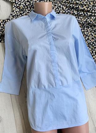 Класна котонова сорочка cos ,рубашка cos