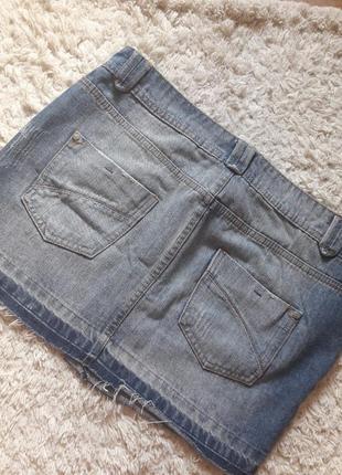 Джинсовая юбка4 фото