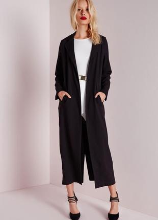 Эксклюзив. последний экземпляр: шикарное летнее длинное пальто-кардиган so fabulous