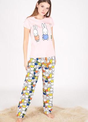 Пижама хлопковая { s, m } скидка при заказе нескольких вещей