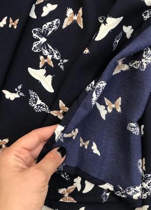 Синее платье на запах от new look2 фото
