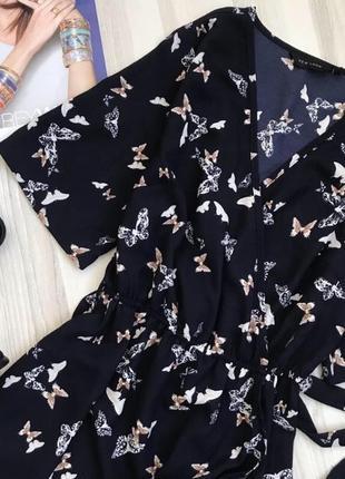 Синее платье на запах от new look3 фото