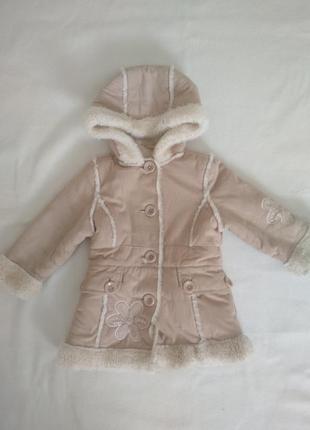 Детское пальто, дублёнка для девочек,зимняя куртка для девочки, зимнее пальто с