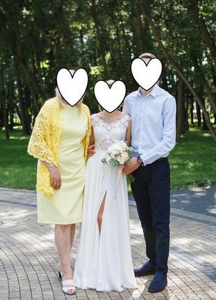 Свадебное супер-платье,легкое,нежное2 фото