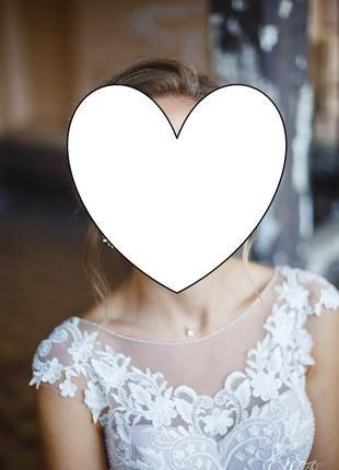 Свадебное супер-платье,легкое,нежное3 фото