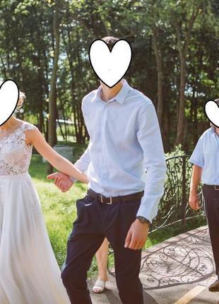 Свадебное супер-платье,легкое,нежное4 фото
