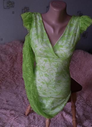 Длинные гипюровые вечерние платья
