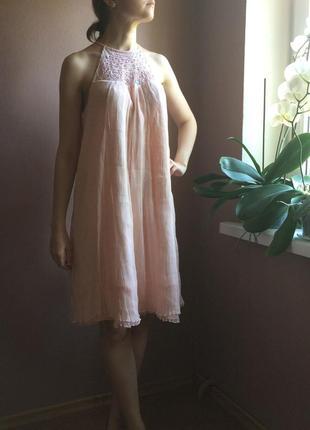 Чудесное шелковое платье melleze paris6 фото