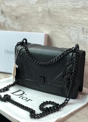 Стильная женская сумка чёрная мода