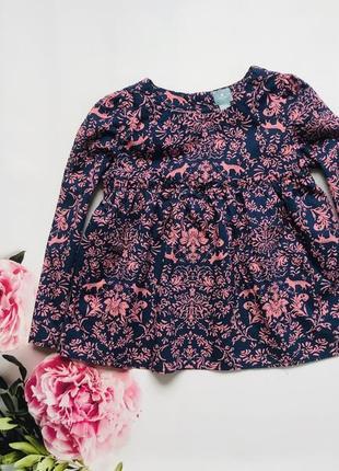 Gap  стильная блузка  на девочку  5 лет