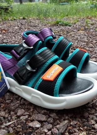 Детские спортивные босоножки - сандали + подарок2 фото