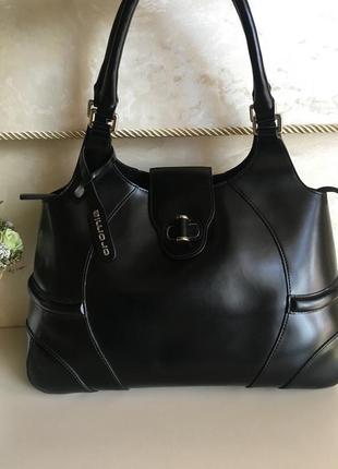 Кожаная итальянская сумка cromia  бренд cromia
