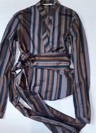 Блуза-рубашка zara basic