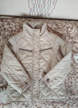 Курточка стеганая для девочки