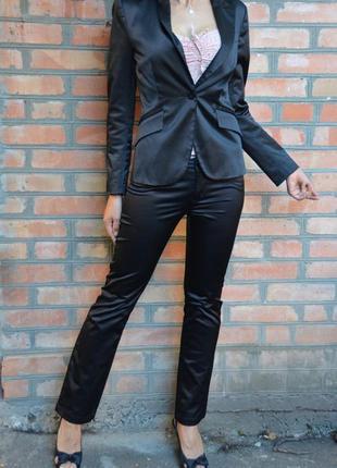 Летняя скидка! нарядный классический пиджак, костюм с брюками, деловой костюм