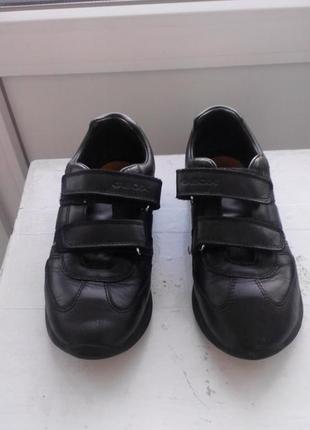 Кожаные туфельки geox