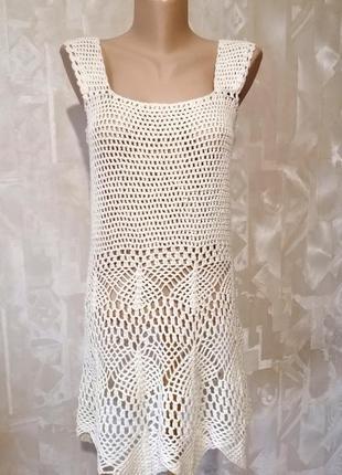 Платье сарафан ручной работы. р. 36-38.
