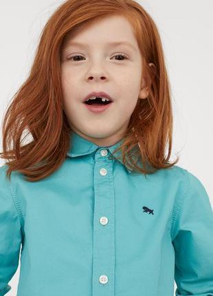 Рубашка h&m на 7-8 лет