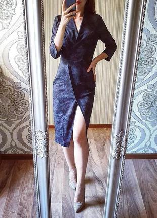 Крутое женское платье