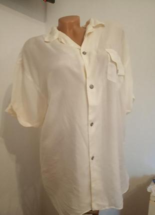 7очень красивая блуза.шелк.франция