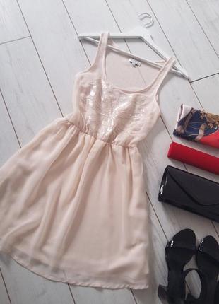 Бэби долл изумительное шифоновое платье..# 98