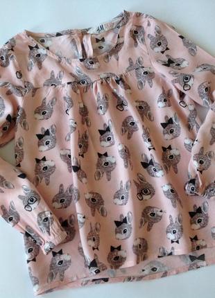 Блуза в кролики