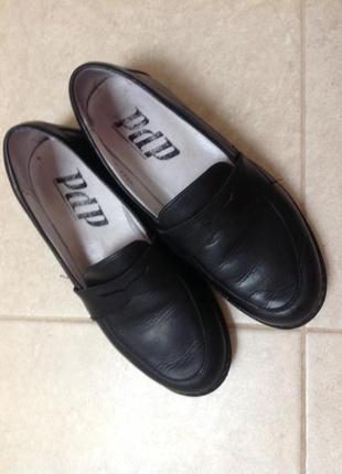 Туфли школьные кожа 33 р.