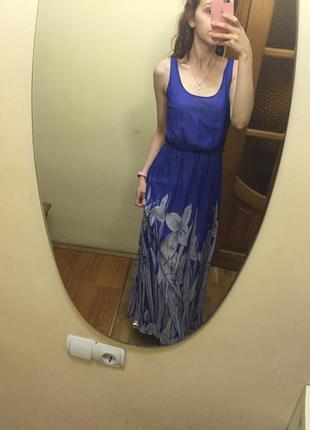 Вечернее платье длинное, в пол