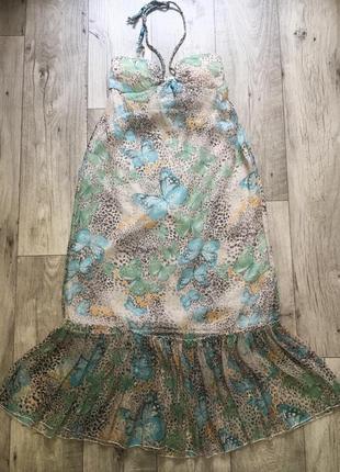 Платье сарафан макси миди dwtk м