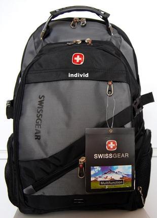Мужской рюкзак swissgear c usb. школьный портфель. швейцарский рюкзак