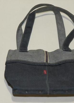 Сумка levis левис левайс джинс для обедов lunch bag