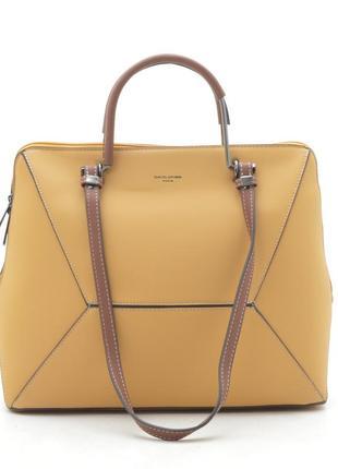 Новая женская жёлтая сумка david jones