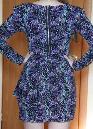 Платье на змейке новое
