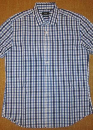 Hugo boss оригинал рубашка короткий рукав тенниска р. m - l