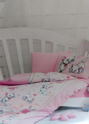 Детский комплект постельного белья турция хлопок1х1,5м