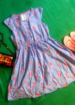 Милое летнее платье h&m