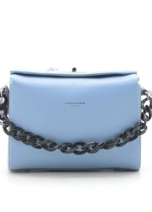 Новая женская голубая сумка клатч david jones