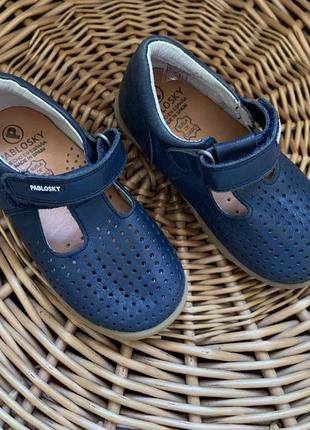 Детские туфли pablosky кожа
