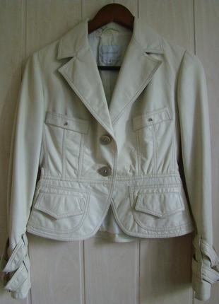 Итальянский пиджак. кожа.