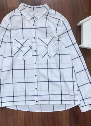 Рубашка блузка 11-12 лет zara