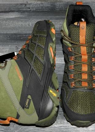 Новые! merrell ! gore-tex! оригинальные, кожаные, невероятно крутые ботинки