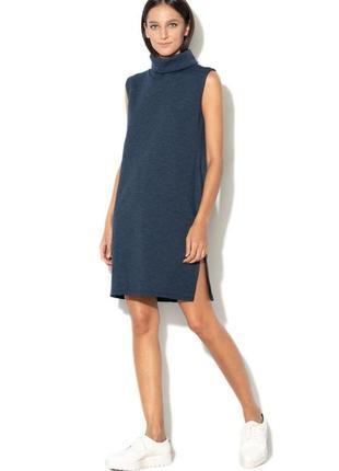Платье с воротником хомут туника esprit р.s-m