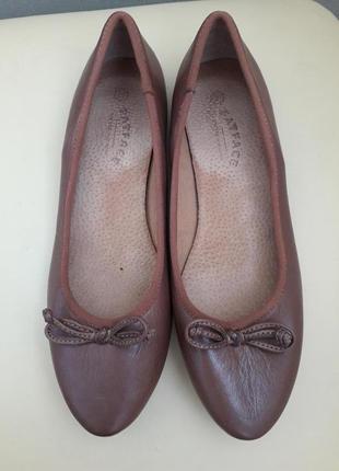 37 p. fatface кожаные удобные туфли балетки