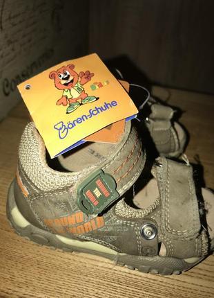 Кожаные ортопедические сандали baren