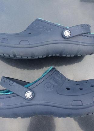 Кроксы сабо crocs hilo lined