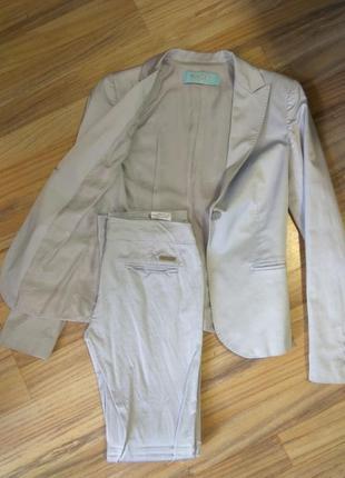 Летний костюм пиджак брюки guess by marciano