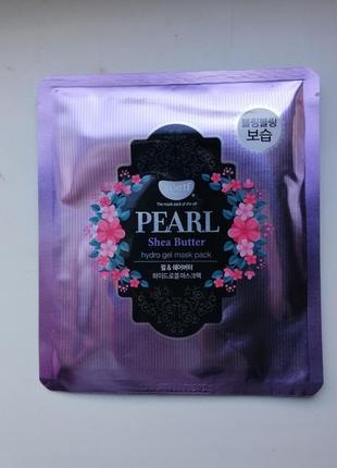 Гидрогелевая маска для лица koelf pearl shea butter корейская косметика