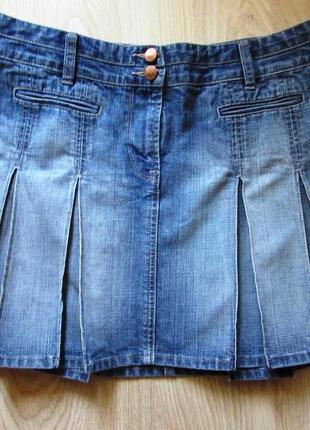 Юбка джинсовая next