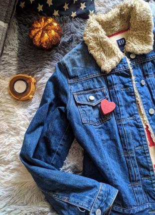 Джинс джинсовка джинс куртка утепленная
