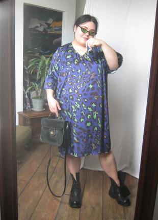 Прекрасное яркое легкое летнее платье ог 160